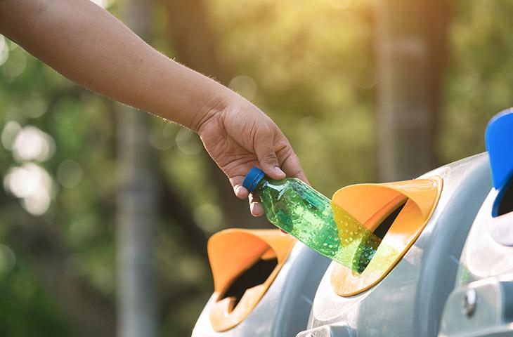 No tirar basura en el medio ambiente