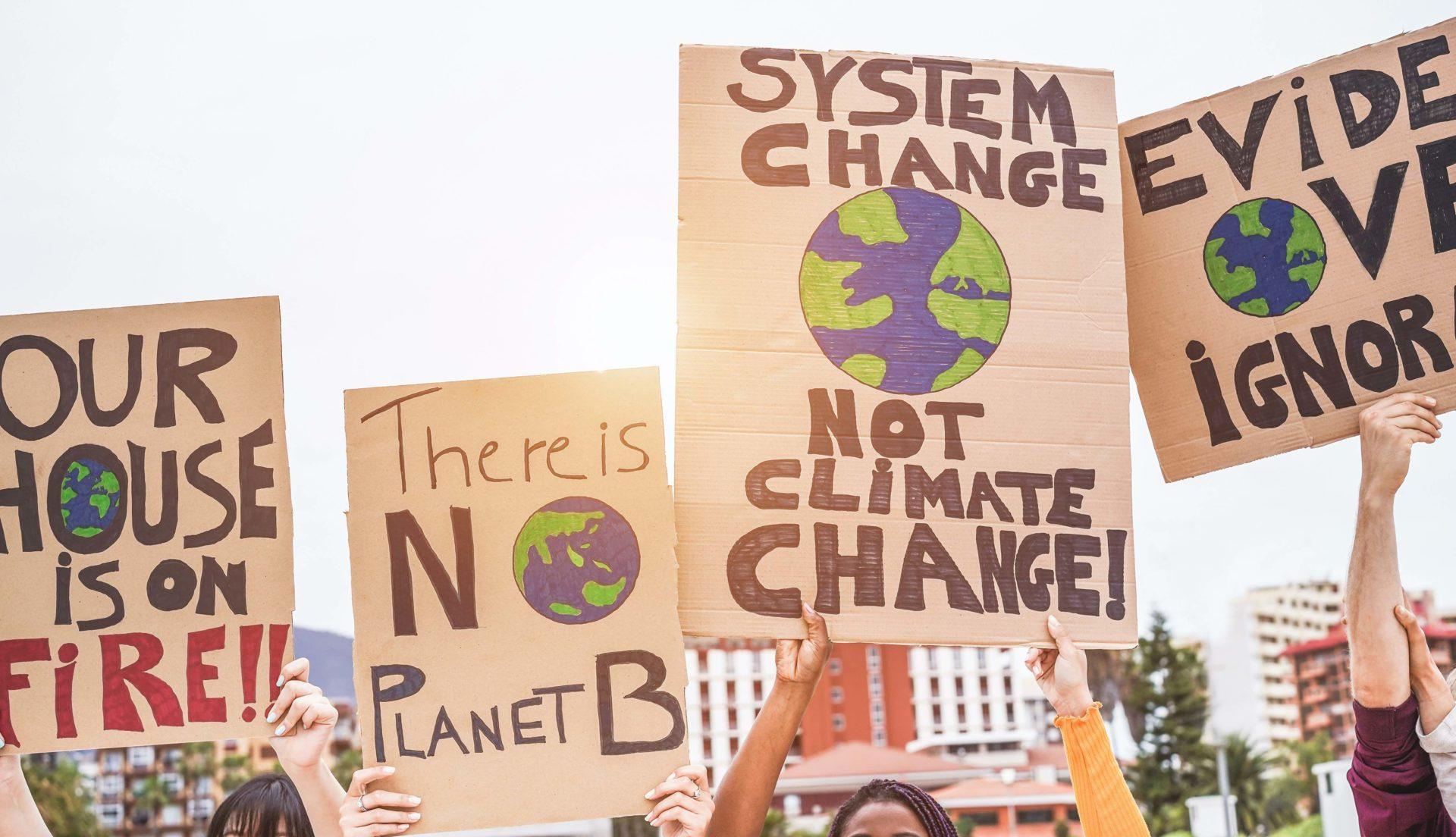 huelgas climáticas