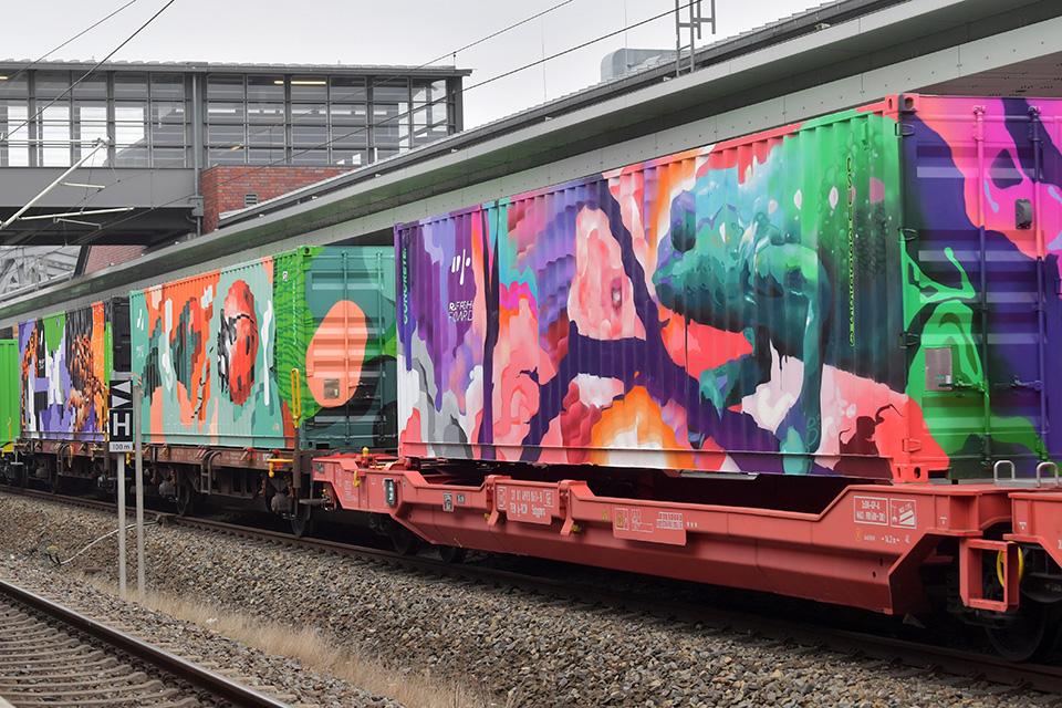 transporte sostenible de mercancías