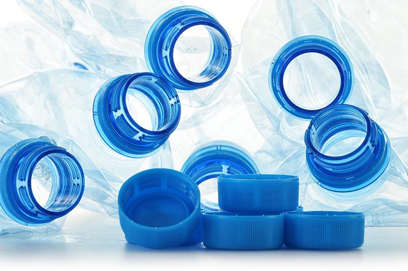 Transformación del plástico reciclado