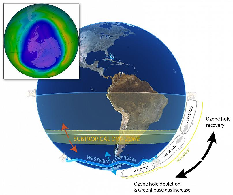 CC Andrew Netherwood / Biología del cambio global, doi: 10.1111 / gcb.12739 a través de The Conversation